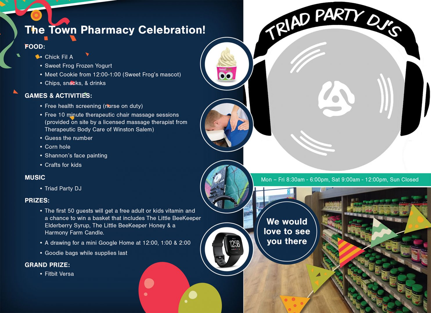 Grand Opening At The Town Pharmacy | Triad Party DJ